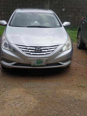 Hyundai Sonata 2011 Silver | Cars for sale in Lagos State, Surulere