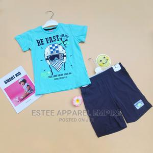 Be Fast 2 Piece Casual T-Shirt Shorts – Boys | Children's Clothing for sale in Lagos State, Ajah