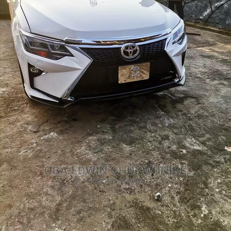 Upgrading Front Bumper Toyota Camry 2012 2 Lexus Face