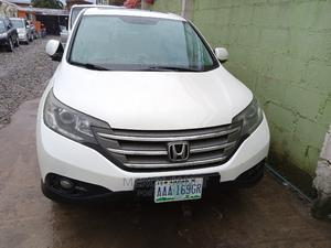 Honda CR-V 2013 White   Cars for sale in Lagos State, Ogba