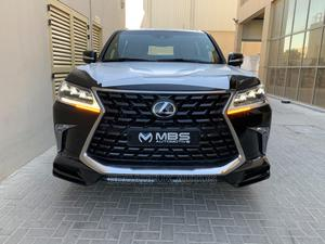 New Lexus LX 2021 570 (5 Seats) AWD Black | Cars for sale in Lagos State, Lekki