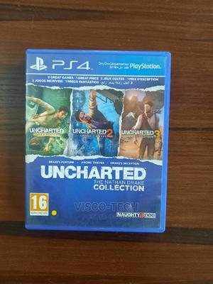 Ps4 Uncharted Collection Pt 1,2,3 | Video Games for sale in Lagos State, Abule Egba