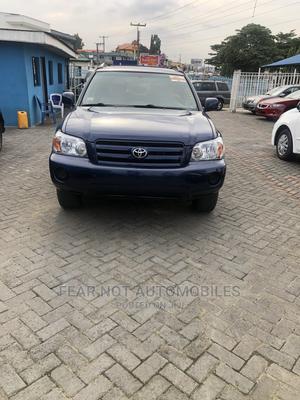 Toyota Highlander 2004 Limited V6 4x4 Blue | Cars for sale in Lagos State, Ojodu