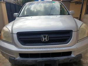 Honda Pilot 2004 EX-L 4x4 (3.5L 6cyl 5A) Silver | Cars for sale in Lagos State, Ipaja