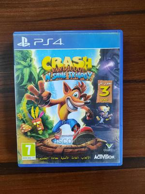 Ps4 Crash Bandicoot N Sane Trilogy | Video Games for sale in Lagos State, Abule Egba