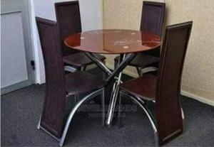 Dinning Table With 4 Chairs   Furniture for sale in Rivers State, Obio-Akpor