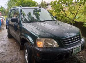 Honda CR-V 1998 2.0 4WD Automatic Green | Cars for sale in Ebonyi State, Ivo