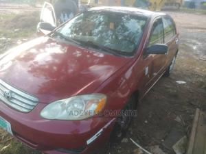 Toyota Corolla 2003 Sedan Red | Cars for sale in Abuja (FCT) State, Lugbe District