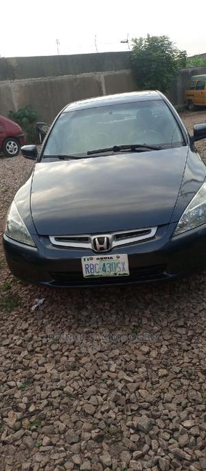 Honda Accord 2005 Sedan LX Automatic Gray | Cars for sale in Kaduna State, Kaduna / Kaduna State