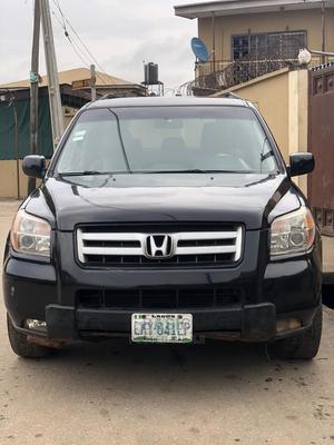 Honda Pilot 2007 LX 4x2 (3.5L 6cyl 5A) Black | Cars for sale in Lagos State, Ikeja