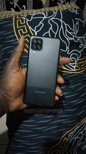 Samsung Galaxy A12 64 GB Black   Mobile Phones for sale in Lagos State, Ikorodu