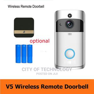 Video Doorbell V5 Wifi Camera Video Two-way Audio Night | Home Appliances for sale in Lagos State, Ikeja