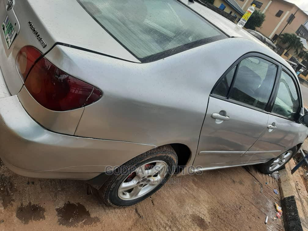 Toyota Corolla 2004 LE Silver   Cars for sale in Agege, Lagos State, Nigeria