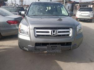 Honda Pilot 2007 EX-L 4x4 (3.5L 6cyl 5A) Gray | Cars for sale in Lagos State, Surulere