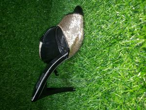 Gold Black Italian Slippers | Shoes for sale in Lagos State, Ikeja