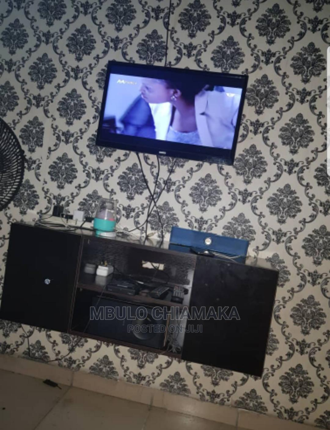 Neatly Used Tv And Tv Stand For Sell