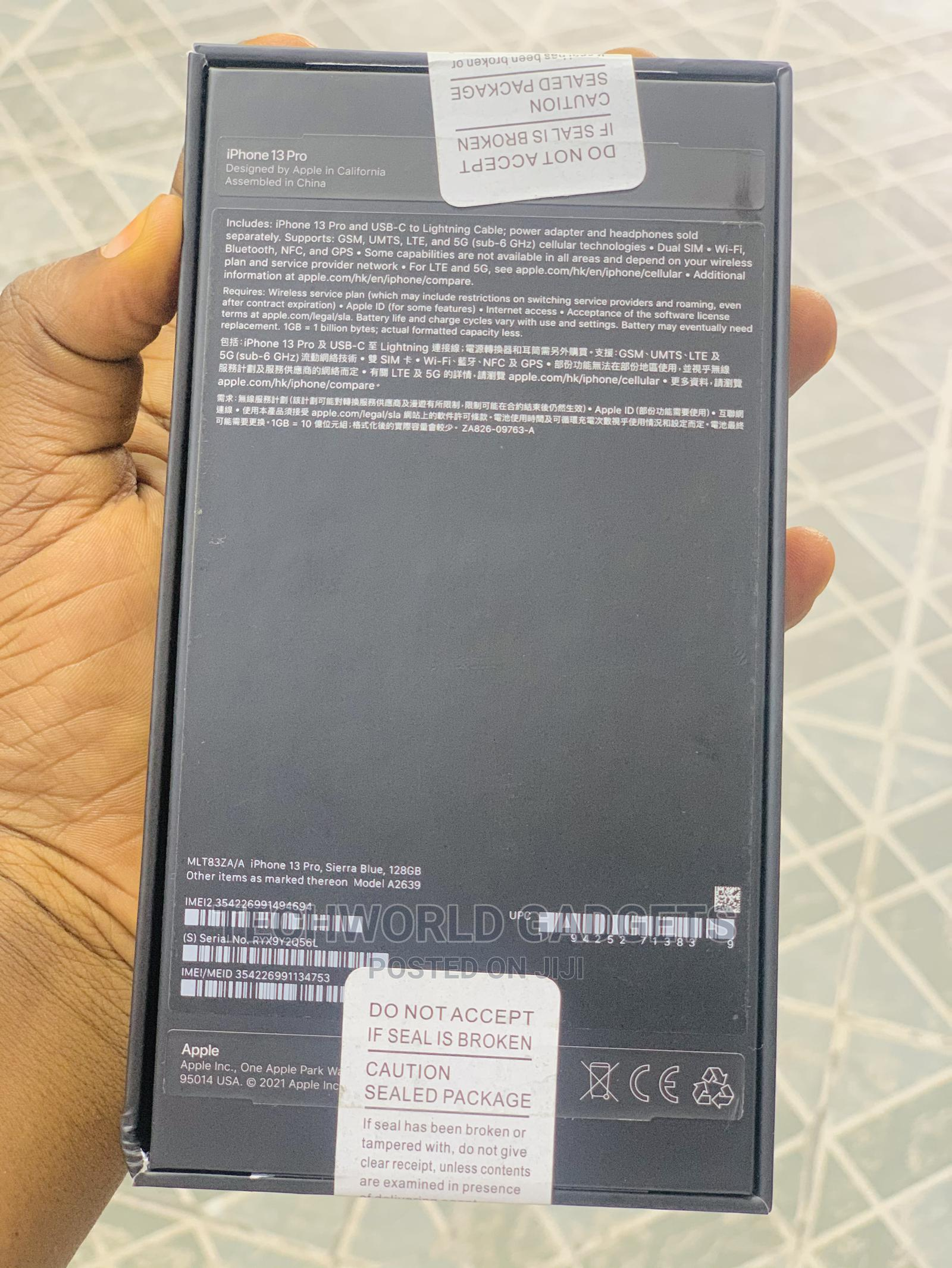 New Apple iPhone 13 Pro Max 128 GB Blue | Mobile Phones for sale in Ibadan, Oyo State, Nigeria