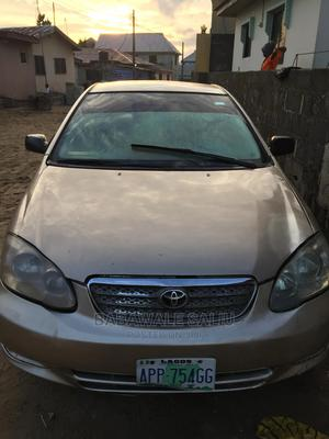 Toyota Corolla 2004 Sedan Automatic Gold | Cars for sale in Lagos State, Ajah