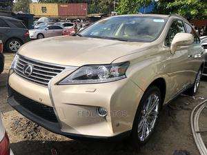 Lexus RX 2015 350 AWD Gold   Cars for sale in Lagos State, Apapa