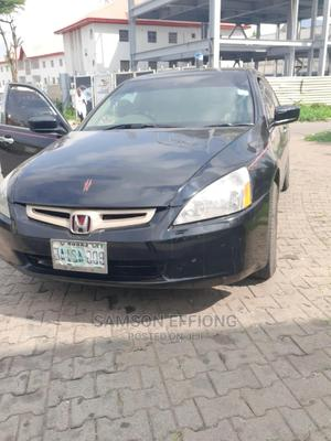Honda Accord 2004 Black | Cars for sale in Abuja (FCT) State, Wuse 2