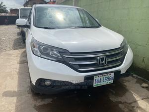 Honda CR-V 2014 White   Cars for sale in Lagos State, Ifako-Ijaiye