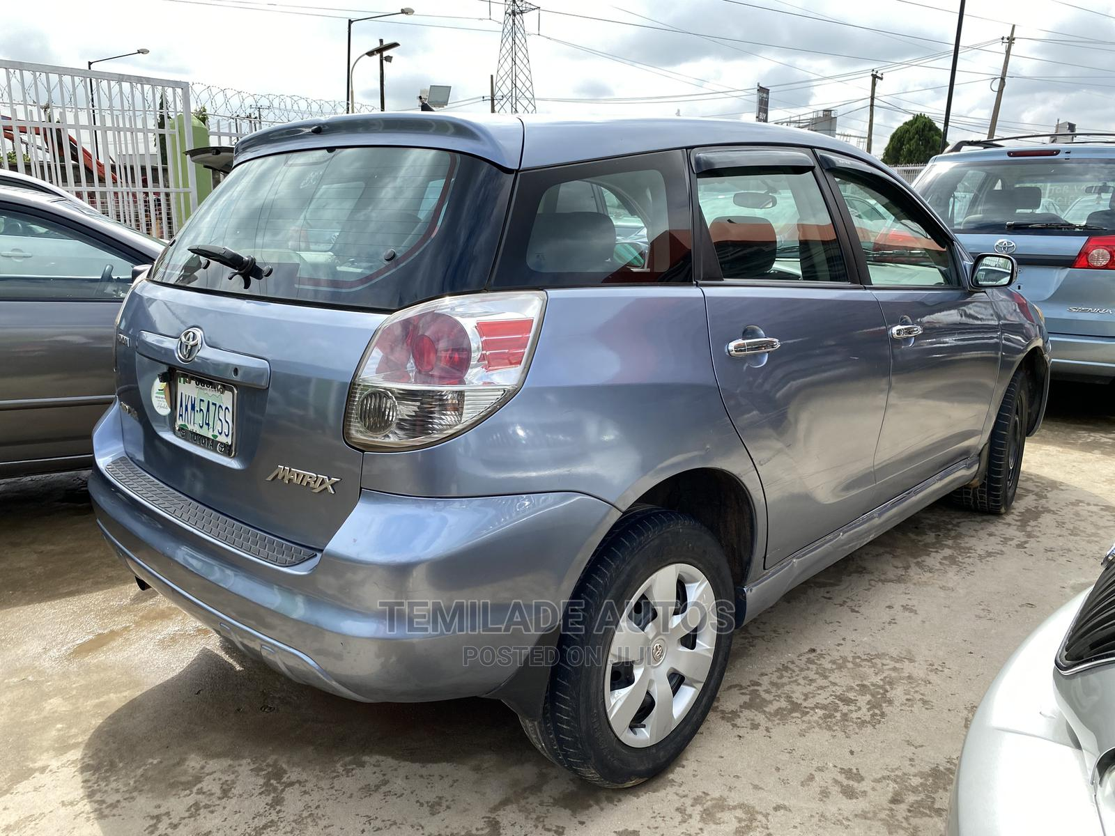 Toyota Matrix 2005 Blue | Cars for sale in Ikeja, Lagos State, Nigeria
