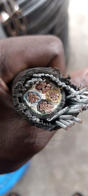 10mmx4core Armoured Cable | Electrical Equipment for sale in Lagos State, Lagos Island (Eko)
