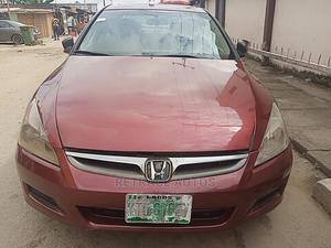 Honda Accord 2007 Red | Cars for sale in Lagos State, Ikeja