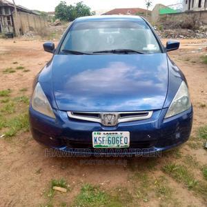 Honda Accord 2004 Blue   Cars for sale in Oyo State, Ogbomosho North