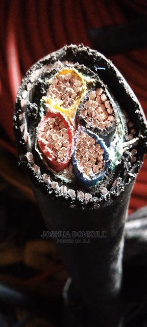 Armoured Cable 50mm X4core | Electrical Equipment for sale in Lagos State, Lagos Island (Eko)