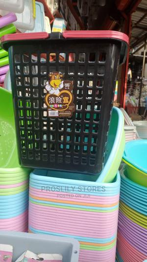 Plastic Laundry Basket | Home Accessories for sale in Lagos State, Ikeja