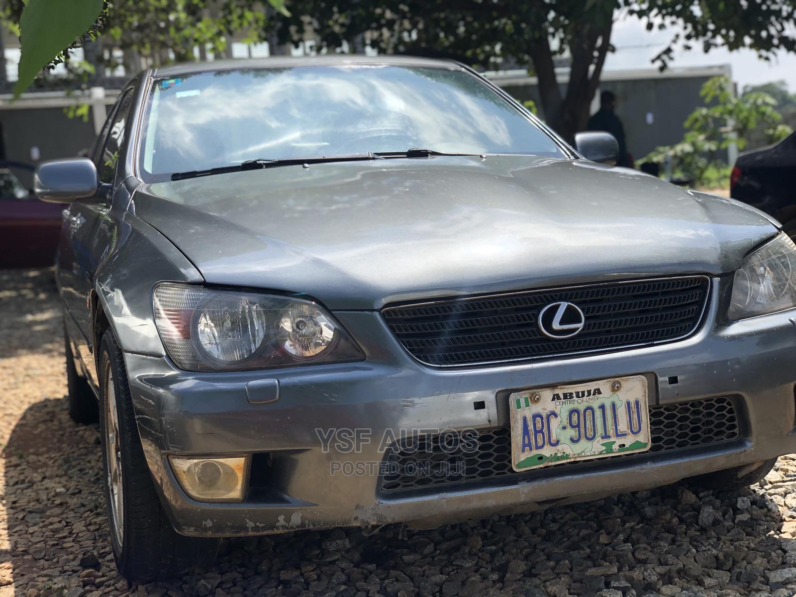 Lexus IS 2002 Automatic Gray