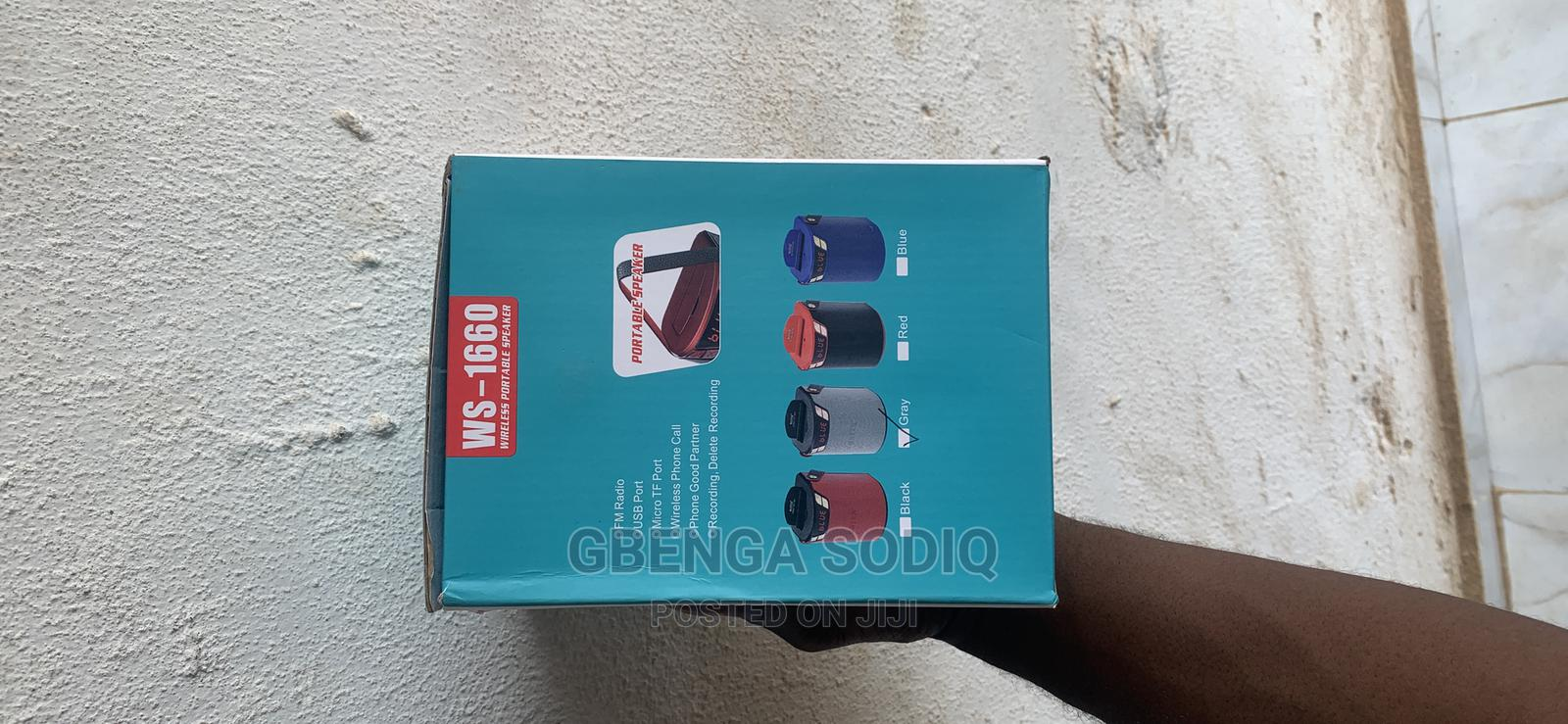 Brand New Original Wster Ws -1660 Bluetooth Speaker   Accessories for Mobile Phones & Tablets for sale in Alimosho, Lagos State, Nigeria
