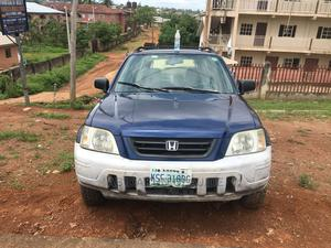 Honda CR-V 1999 2.0 Automatic Blue | Cars for sale in Ondo State, Akure