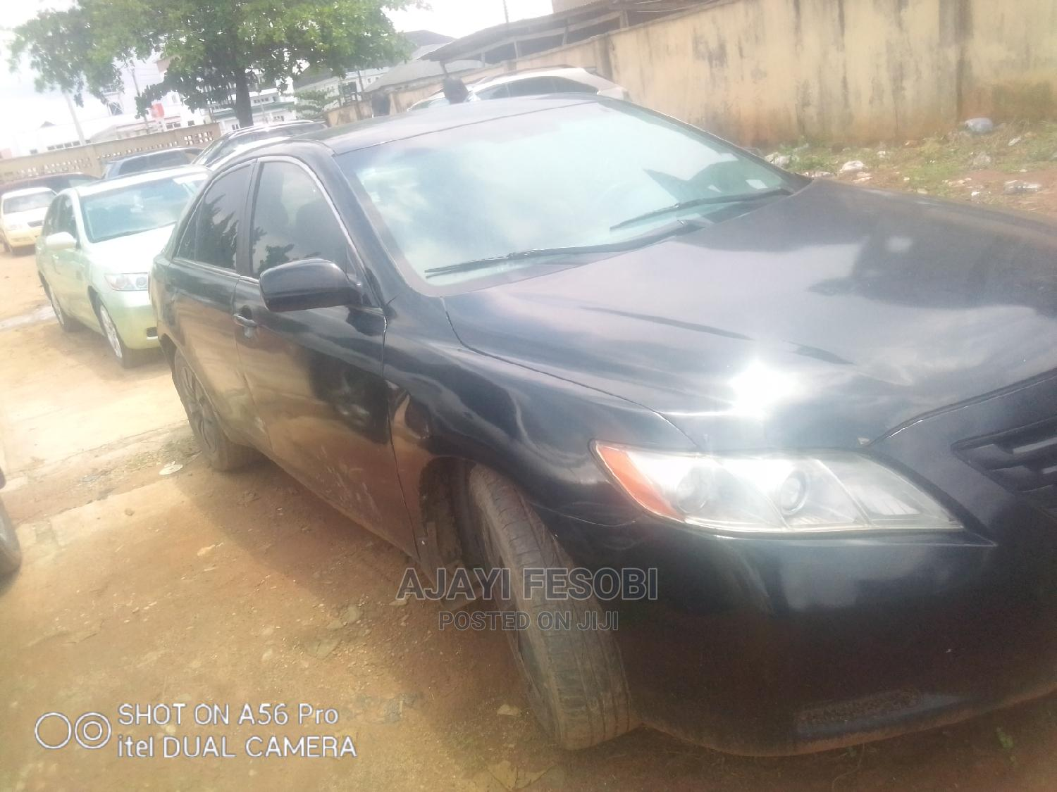 Toyota Camry 2008 2.4 LE Black | Cars for sale in Ejigbo, Lagos State, Nigeria