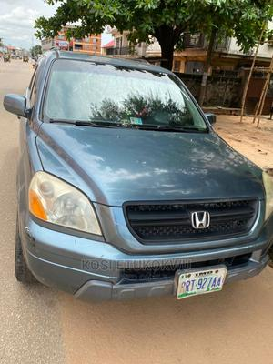 Honda Pilot 2005 EX 4x4 (3.5L 6cyl 5A) Blue | Cars for sale in Anambra State, Onitsha