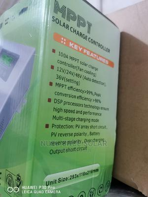 100A MPPT Must 12V 24V Solar Charge Controller.   Solar Energy for sale in Lagos State, Ojo