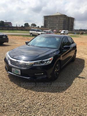 Honda Accord 2017 Black   Cars for sale in Abuja (FCT) State, Gudu