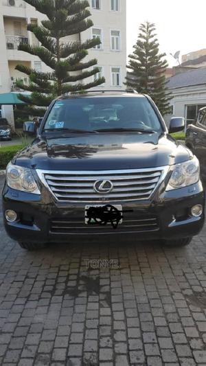 Lexus LX 2009 570 Black | Cars for sale in Lagos State, Ikoyi