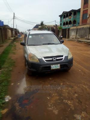 Honda CR-V 2004 2.0i ES Automatic Gray | Cars for sale in Lagos State, Alimosho