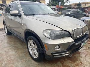 BMW X5 2008 4.4i Sport Automatic Gold | Cars for sale in Lagos State, Ikorodu