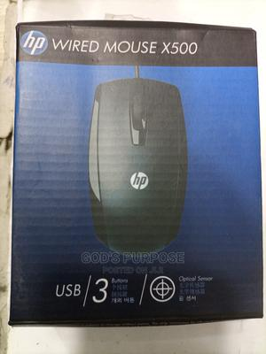 Long Cord Original HP Wired Mouse   Computer Accessories  for sale in Lagos State, Lekki