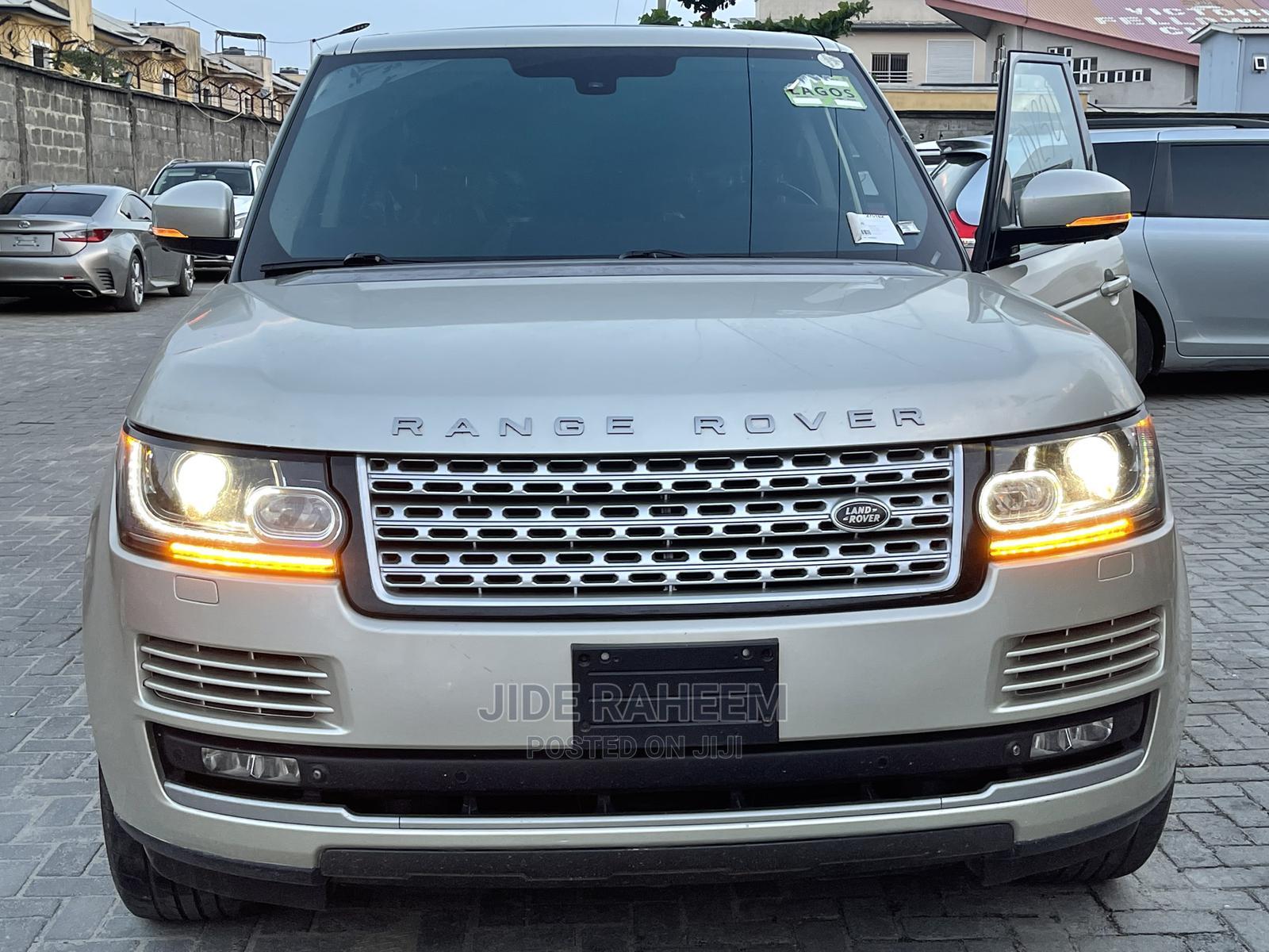 Land Rover Range Rover 2013 Gold