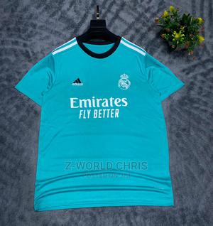 Real Madrid Official 21/22 Away Jersey | Clothing for sale in Lagos State, Surulere