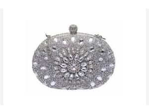 Ladies Crystral Clutch Purses   Bags for sale in Lagos State, Oshodi