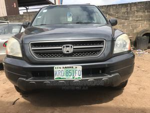 Honda Pilot 2004 Gray | Cars for sale in Lagos State, Abule Egba