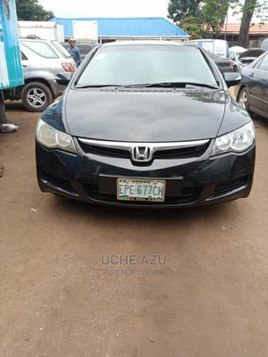 Honda Civic 2008 Black   Cars for sale in Lagos State, Ikeja