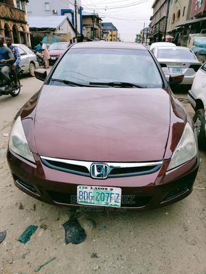 Honda Accord 2006 Sedan EX Purple | Cars for sale in Lagos State, Yaba