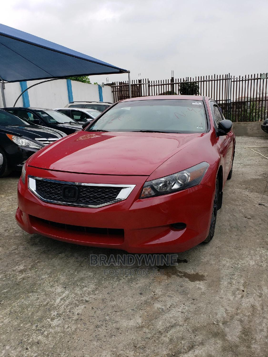 Honda Accord 2009 Coupe EX-L Automatic Red