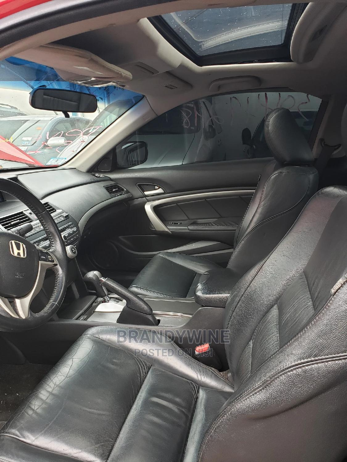 Honda Accord 2009 Coupe EX-L Automatic Red   Cars for sale in Magodo, Lagos State, Nigeria